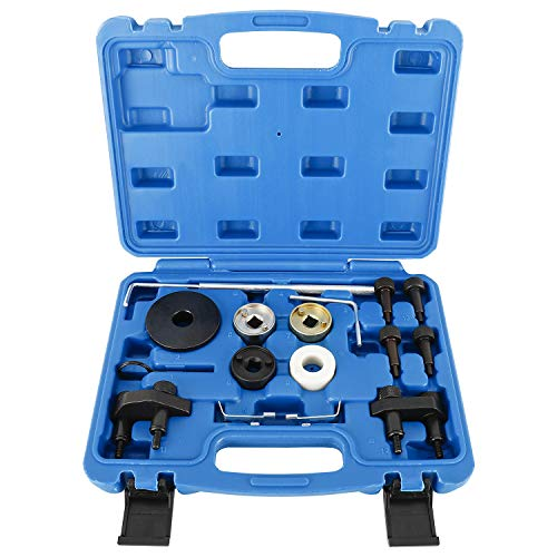 FreeTec Motor Nockenwelle Locking Ausrichtung Timing Tool Kit Kompatibel mit VW Skoda VAG 1.8 2.0 TFSI