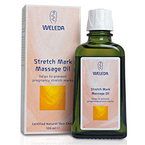 Weleda Massageöl für Dehnungsstreifen, 12 x 100 ml