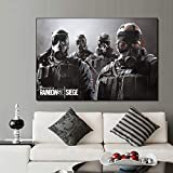 QWESFX Rainbow Six Siege Game Gemälde Poster und Drucke