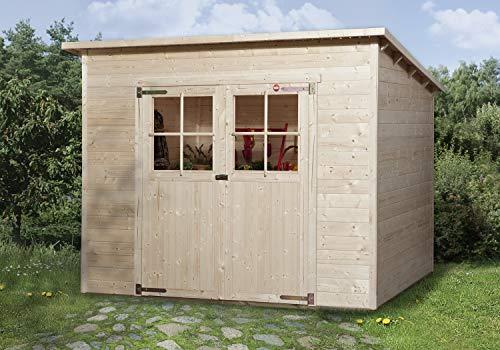 weka Gartenhaus 325 Gr.3, natur, 19 mm
