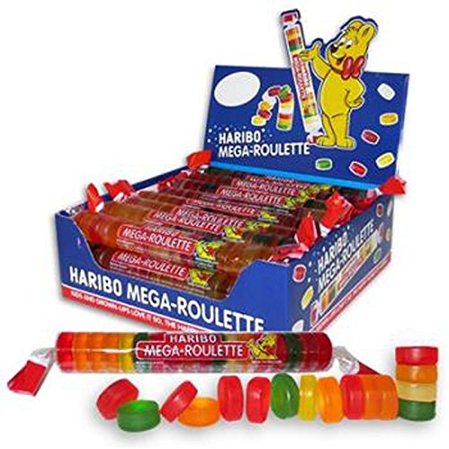 Product Of Haribo, Mega-Roulette , Count 24 (1.59 oz) - Sugar Candy / Grab Varieties & Flavors