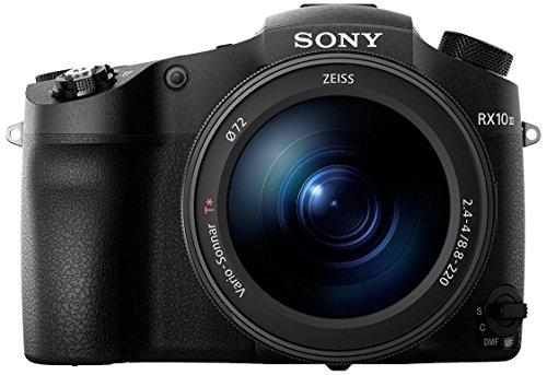Sony Cybershot DSC-RX10 III - Cámara Digital de 20.1 MP (Lente Zoom de 24-600mm, Apertura de F2,4-4, Motor Bionz X, Sensor CMOS, 4K, Full HD) Negro