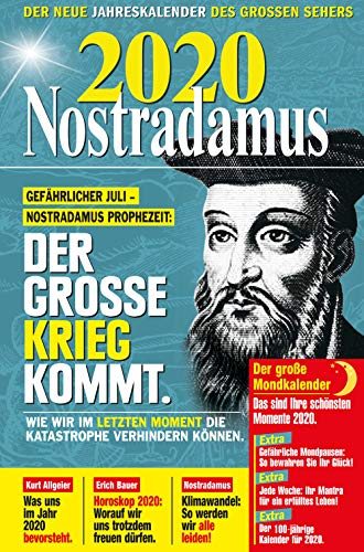 Nostradamus 2020 Tageskalender