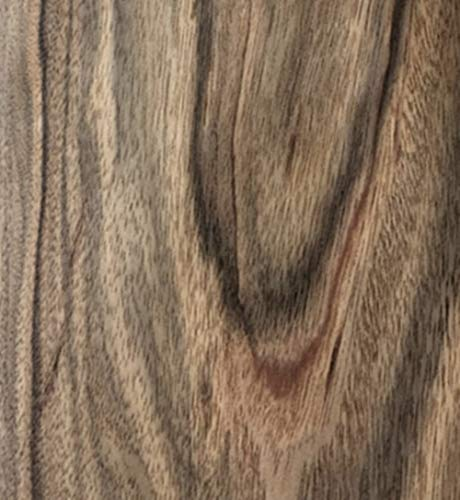 Aibote Handgefertigte Tinte Sentiment Ebenholz Furnier Restauration Blatt Naturholz Aufkleber DIY Material (Gesamtgröße: 20 x 250 cm; Dicke: 0,25 mm) (Flachschnitt)