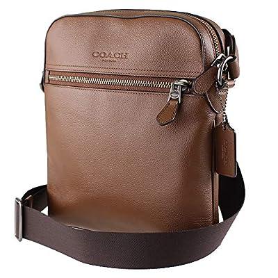 Coach Unisex Smythe Flight Bag (Saddle Brown)