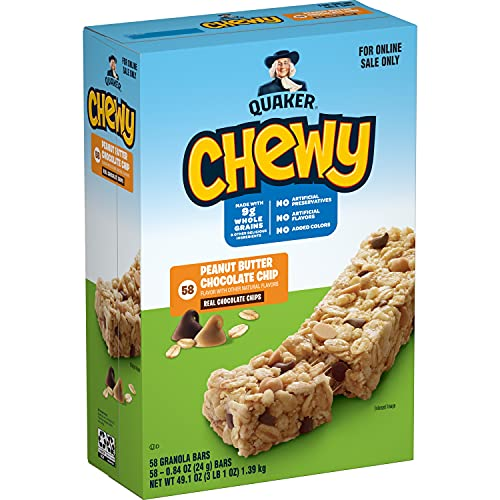 58 Pack of Quaker Chewy Granola Bars Only $6.19 (Was $13.99)