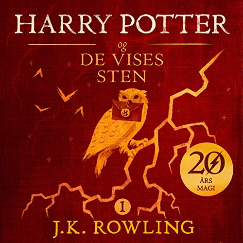 Harry Potter og De Vises Sten audiobook cover art