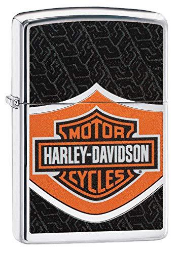 Zippo Harley Davidson Feuerzeug, Messing, Design, 5,83,81,2