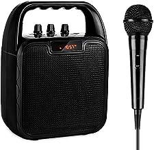 ARCHEER Portable PA Speaker System, bluetooth Speaker with Microphone, Karaoke Machine..