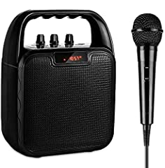 Super Wide Compatibility: this portable pa speaker system is designed with multifunctions. You can play the music through the USB port; AUX input or Stream the music from your any bluetooth-enabled devices like smartphone,Tablet and more. Let you can...