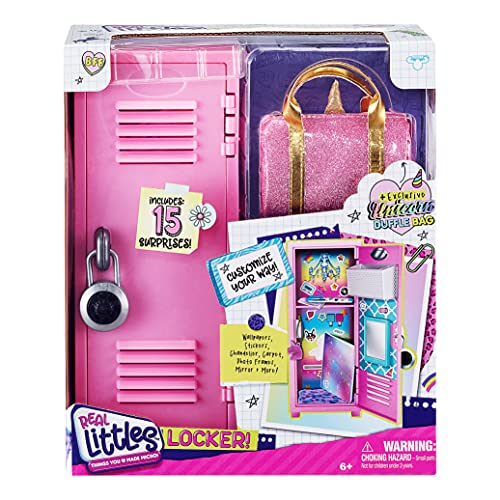 REAL LITTLES - Collectible Micro Locker with 15 Stationary Surprises Inside! (25263)