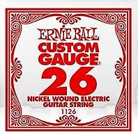 【正規品】 ERNIE BALL 1126 ギター弦 バラ弦 (.026) NICKEL WOUND STRING SINGLE ニッケル・ワウンド・ストリング