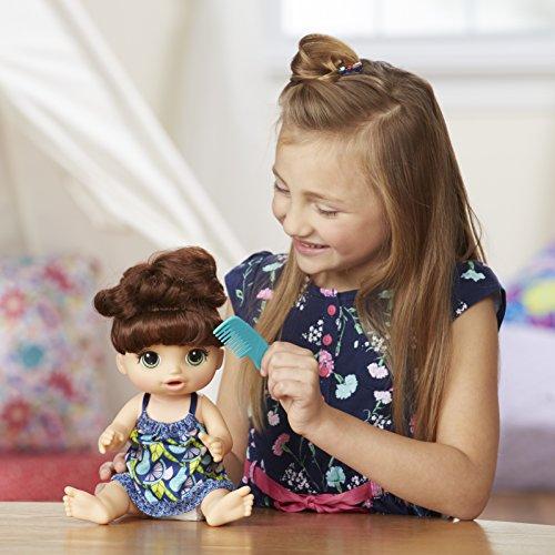 Baby Alive Girl Sweet Spoonfuls Brunette Doll