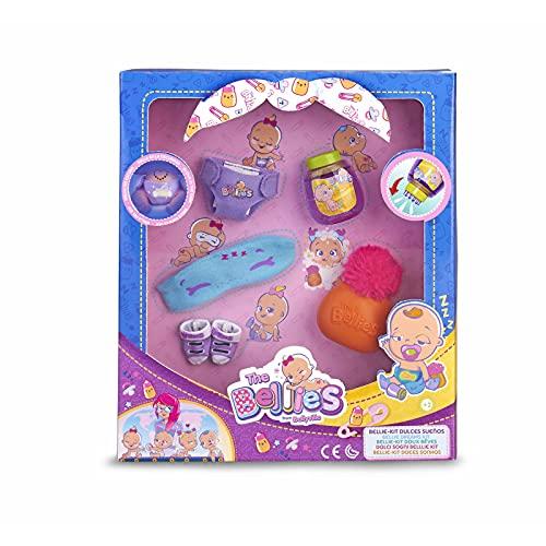 Oferta de The Bellies - Bellie, Kit Dulces Sueños, Accesorios para Dormir, Recomendado para Niños y Niñas a Partir de 3 Años, Multicolor, (Famosa 700015141)