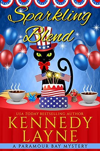 Sparkling Blend (A Paramour Bay Cozy Paranormal Mystery Book 21) by [Kennedy Layne]