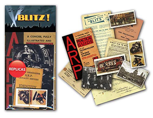 Sweet and Nostalgic Blitz WWII Memorabilia Gift Pack with over 20 pieces of Replica Artwork