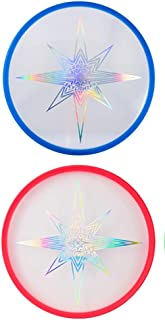 Aerobie Skylighter Lighted Flying Disc Frisbee – Bright LED Lights for Night Flights (Colors May Vary)