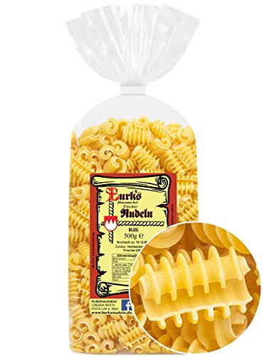 Burk's Rilli Nudeln - Radiatori Pasta mit Ei (500 g)