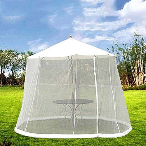 LYYJIAJU Outdoor Mosquito Net Tent Outdoor Garden Mosquito Cover, Cylindrical Polyester Mosquito Net with Zipper and Water Tube at The Base