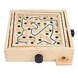 Hand Maze Toy, Maze Board Game, Maze Board de madera, Balance Ball Game Chlidren Maze Toy, Juego de cerebro, Juegos para niños adultos(ohye-hand maze trumpet)