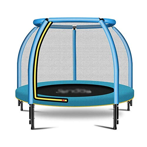 Rebounder Trampolines 48' Household Children's Indoor Baby Bounce Bed Children's Guarding Net Family Trampoline Small Jumping Bed Improve Cardio Balance And Physical Strength Max Load Exercise Equipme
