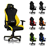 NITRO CONCEPTS S300 Gaming Chair - Astral Yellow - Office Chair -...