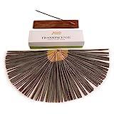 Frankincense Premium Natural Incense Gift Box with Incense Burner, Low Smoke, 100% Natural, No...