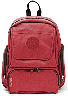 Fisher-Price Mama Backp+ACC,29.5 X 14 X 42.5 厘米,红色