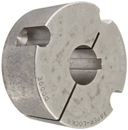 "Gates 2012 22MM Taper-Lock Bushing, 22mm Bore, 1.2"" Length, 2.0"" Max Bore"