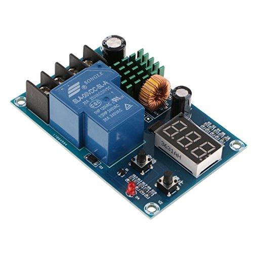 Nologo TIN-YAEN DC 6-60V-Lithium-Batterie-Ladesteuerkarte Power Switch-Modul Zubehör