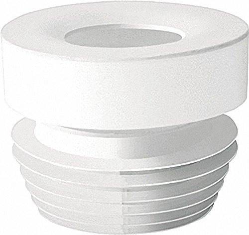 WC-Anschluss gerade Durchmesser 100-110 Farbe: weiss