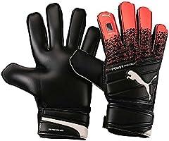 Guantes de Portero PUMA Evopower Protect 3.3, Unisex, Color Fiery Coral-puma Black-puma White, tamaño 10