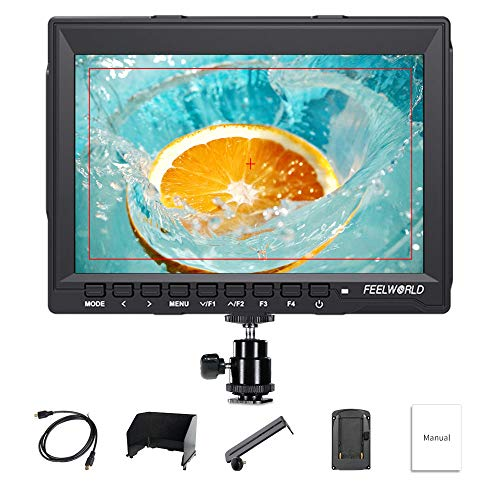 Feelworld FW759 7 Zoll Kamera DSLR Field Monitor Camera Full HD Focus Video Assist 1280x800 IPS mit 4K HDMI Input Output
