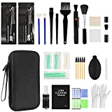 20-in-1 Professional Camera Cleaning Kit with Cleaning Gel mud/Air Blower(2nozzles)/Lens Cleaning Pen/Detergent/Cleaning Cloth/Lens Brush/Carry Case for Optical Lens and Digital SLR Cameras