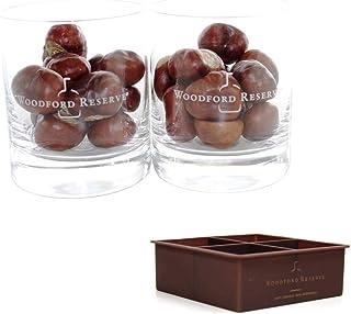 Woodford Whisky Gläser 6er Set New York Bar  Eiswürfel-Behälter ~mn 74 7i1m