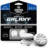 KontrolFreek FPS Freek Galaxy Bianco per PlayStation 4 (PS4) e PlayStation 5 (PS5) | Levette Performance | 1 alta, 1 media | Bianco