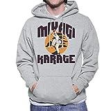 HVCMNVB Karate Kid Miyagi School Men's Hooded Sweatshirt L