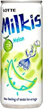 Lotte Milkis Carbonated Soda Drink 8.45 fl oz x 30 Cans (Melon Flav.)