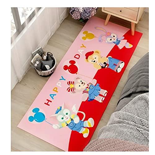maishi Lange Teppiche Kinderzimmer Wohnzimmer Spielküche Bodenmatte Nachtbad Bad Flur Cartoon Kaninchenbär Baby Crawl Home Decor Mädchen Geschenk