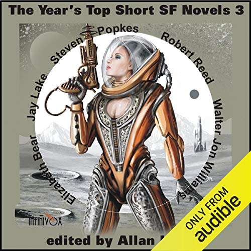 The Year's Top Short SF Novels 3 audiobook cover art
