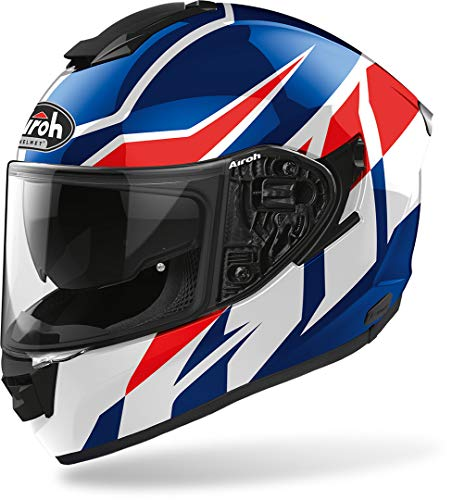Airoh CASCO ST.501 FROST BLUE/RED GLOSS L