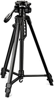 Digitek DTR 550LW Lightweight Tripod (Maximum Load up to 5 kg), 5.57 Feet Tall for Digital SLR & Video Cameras, Made Aluminium Material (DTR 550LW)