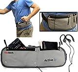 Navitech Grey Smartphone Running/Jogging Water Resistant