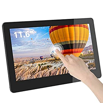 GeChic 1102I 11.6 inch FHD 1080p Portable Touchscreen Monitor with HDMI & VGA Video inputs USB Powered Plug&Play Ultralight and Slim Built-in Speakers Rear Docking