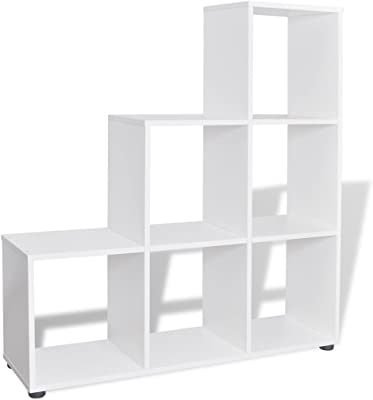 Melko® Raumteiler 9 Fächer Stufenregal Bücherregal Büroregal Standregal Akten ✅