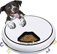 Automatic Pet Feeder Food Dispenser for Dogs, Cats & Small Animals 5 Meal Trays Dry Wet LCD Smart Fo...