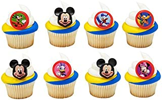 Mickey and the Roadster Racers Fun Together Cupcake Rings - 24 pc