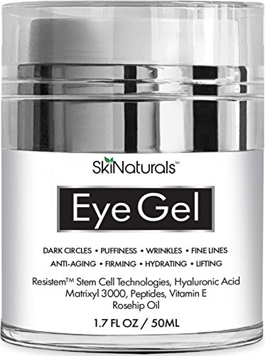 Eye Gel for Dark Circles, Puffiness, Wrinkles, Fine Lines and Bags - The Most Effective...