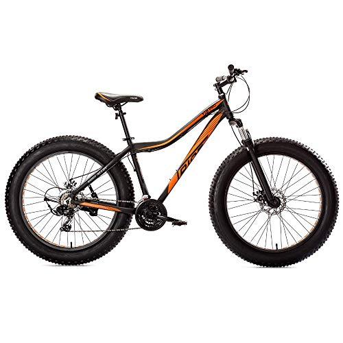 TRIAD FTB Pro 26T 21 Speed - Fully Fitted Fat Bicycle (Matt Black,...