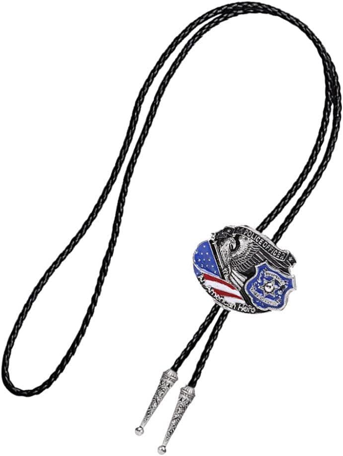 YPYSD Bolo Ties Fashionable bolotie Mens Bolo Tie Western American Series Bolo Tie Classical Tie Pendant Ties (Color : 01)